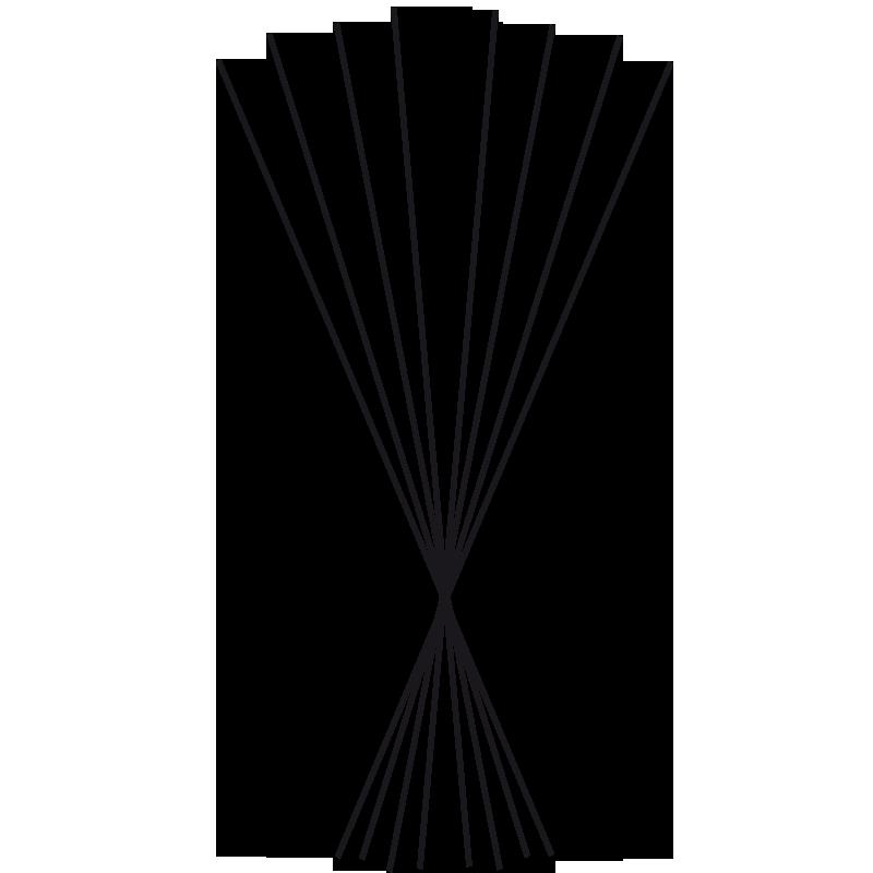 Black sticks